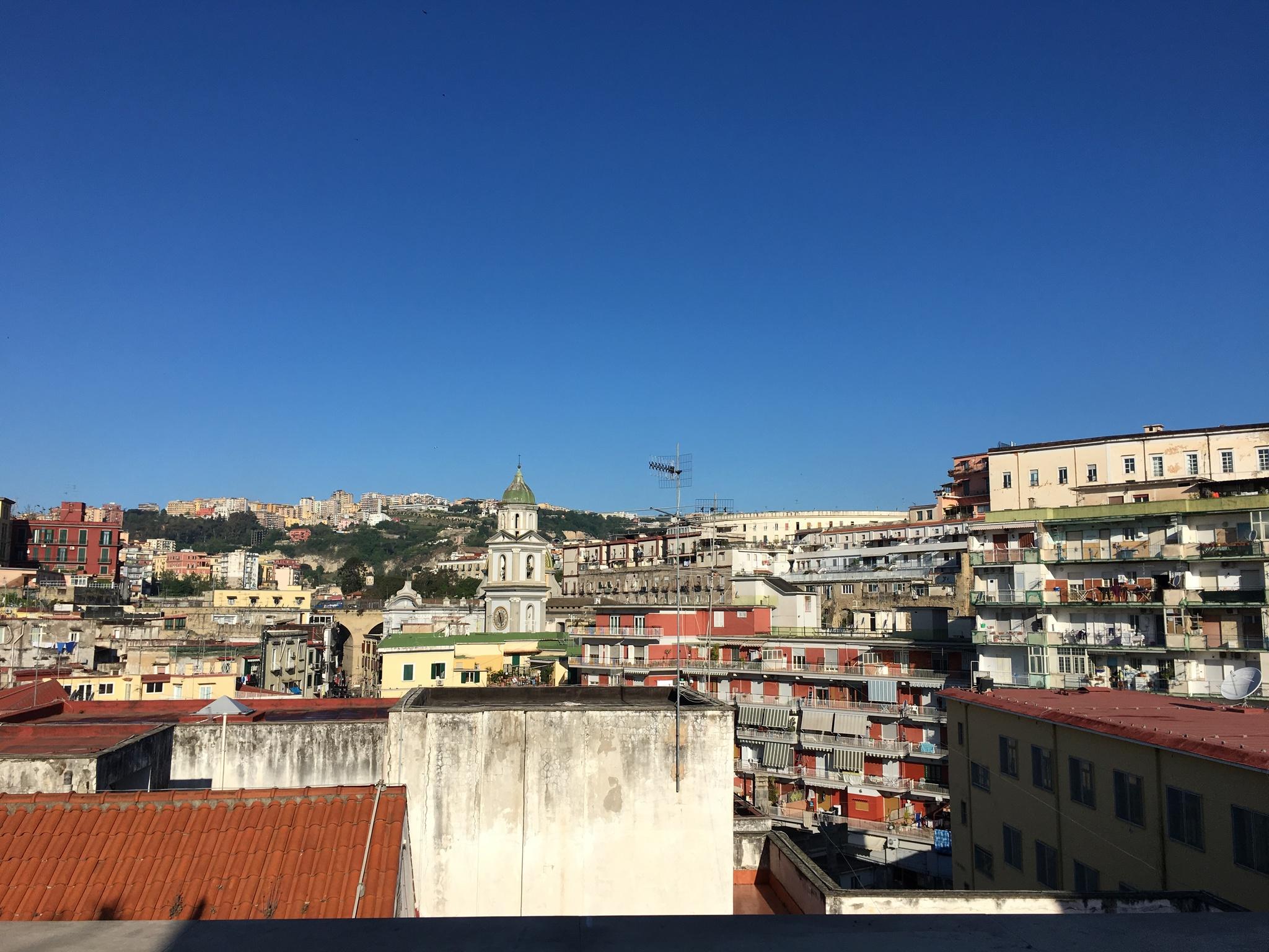 Výhled na Neapol