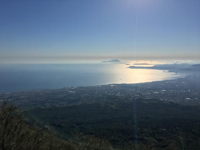 Výhled z Vesuv
