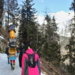 Náročné výšlapy tatranských nosičů s 60 kg na zádech
